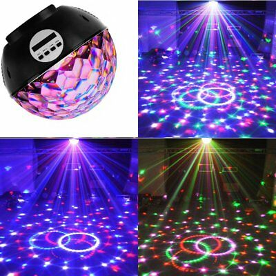 LED Laser Disco Light Rotating Ball Bluetooth Wireless Speaker for DJ Club Party