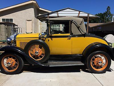1931 Ford Model A  1931  MODEL A FORD  CABRIOLET