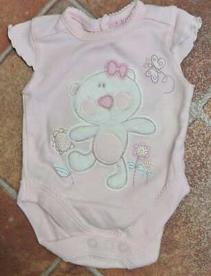 Baby girl bodysuit 100% cotton pink Early Baby