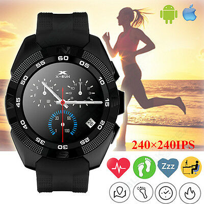 New MTK2502 G5 Bluetooth Heart Rate Smart Watch Stopwatch Player For IOS Android