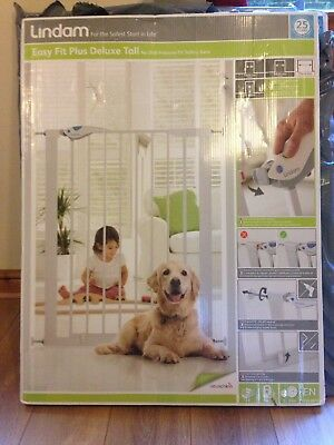 Lindam Tall Pressure Fit Safety Baby/Dog Gate