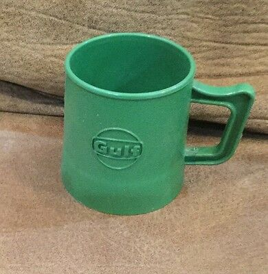Gulf Oil Chemicals Green Plastic Mug