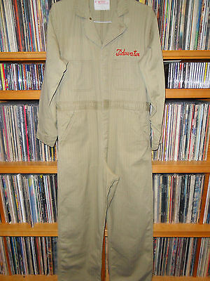 Vintage 1950s TIDEWATER Service Station Coveralls Size 42
