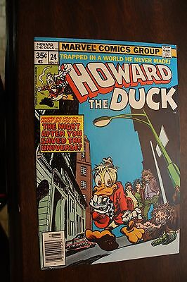 Howard the Duck  #18 (1977) Man-Thing Appearance