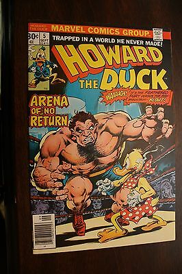 Howard the Duck  #5 (1976) Klout Appearance