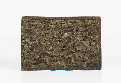 Chinese Yuan Dynasty Bronze Plaque
