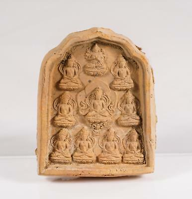 Chinese Qing Dynasty Tibetan Clay Tablet