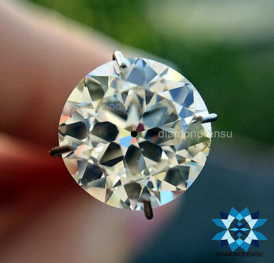GENUINE! 8.00mm VS OEC ROUND I-J BEST LOOK AND SPARKELING LOOSE MOISSANITE