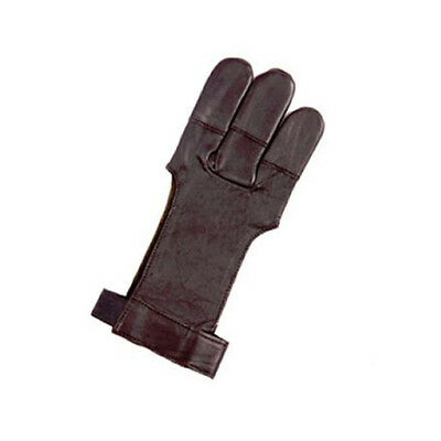 Petron - Archery bear claw Shooting Glove - brown leather
