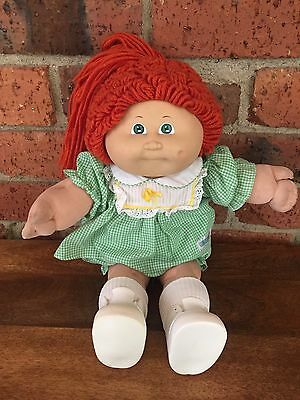 Vintage Cabbage Patch Kid Girl 1985 CPK Red Hair