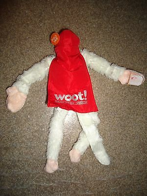 WOOT! FLYING SCREAMING MONKEY WHITE W/ RED CAPE-BRAND NEW collector RARE