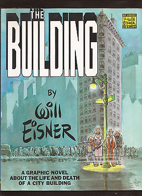 Will Eisner The Building Graphic Novel DC Comics Library September 2000