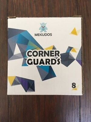 Mekudos Corner Guards - 8 Pack - Baby Proofing - Clear - Ultimate Safety -...