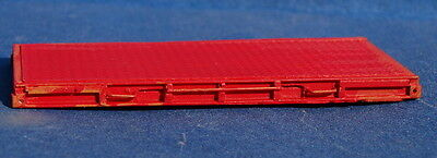HO Scale 20 foot flatrack containers 3 Pack.