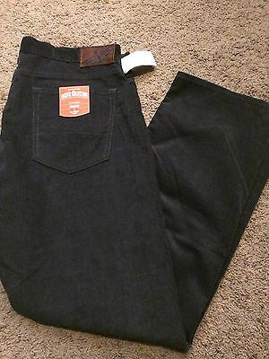 Nwt Dockers Pacific Collection 5 Pocket Straight Fit Corduroy Pants Gray 30X30