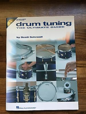 Drum Tuning The Ultimate Guide, As New Condition Book, Hal Leonard Publishing