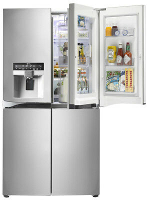 NEW LG - 906L French Door Fridge - GF-5D906SL from Bing Lee