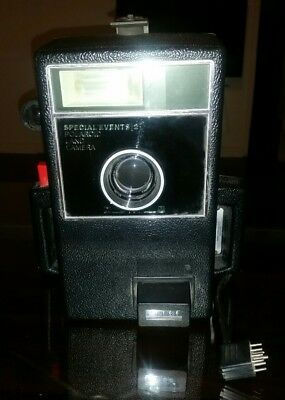 Poloroid Land Camera SPECIAL EVENTS 2 Model 20-22 W/ TOMINON 1:5.6 F=180MM LENS