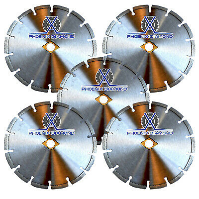 "(5Pack) 7"" SUPREME Laser welded Diamond Saw Blade for General Purpose"