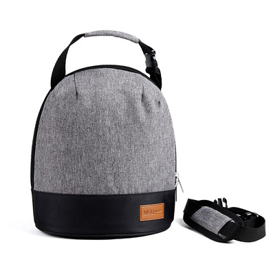 6-can capacity Insulated Lunch Bag- Freezer Safe, Smooth Zipper- Unisex Bags