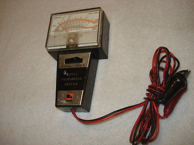 1970's Hawk Dwell Tachometer Tester for 4, 6 & 8 Cylinder Vehicles