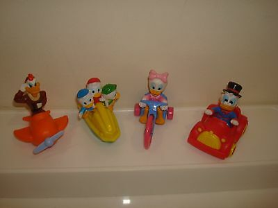 Vintage Duck Tales Mcdonalds Happy Meal Toys X 4
