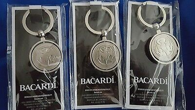 Bacardi Key chain (lot of 3)