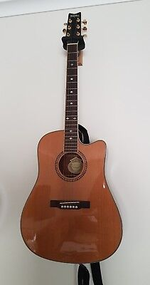 Washburn Acoustic Electric Guitar - D104SCE