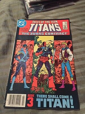 TALES OF THE NEW TEEN TITANS #44 F, 1st NIGHTWING, Newsstand Edition