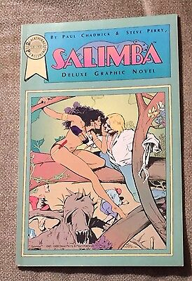 Salimba A Deluxe Graphic Novel by Paul Chadwick & Steve Perry