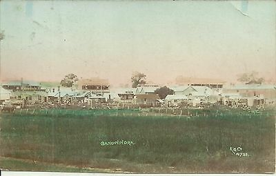 TOWNSHIP OF CANOWINDRA NSW COLOUR PHOTO KERRY & Co. POSTCARD