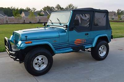 1991 Jeep Wrangler islander 1991 jeep wrangler islander restored!! new paint new engine new transmission!!!