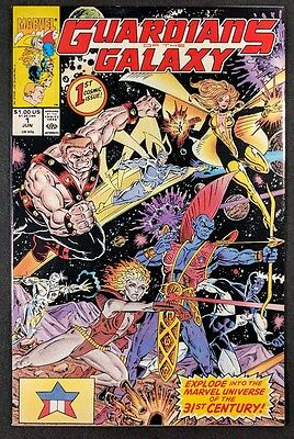 Guardians of The Galaxy #1! High Grade NM- (Marvel 1990)