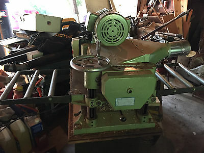 "Grizzly 15"" Model G1021 Planer roller feeds!"