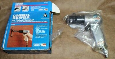 Pneumatic chisel/hammer with acc. Campbell and Hausfeld
