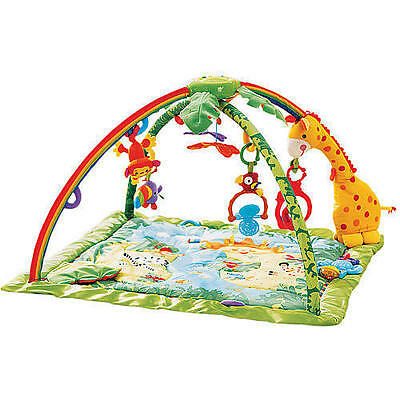 Fisher Price Rainforest Melodies & Lights Deluxe Gym