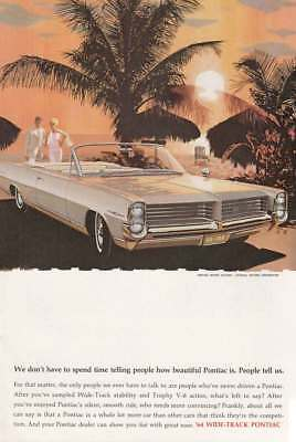 1964 Pontiac: Spend Time Telling People How Beautiful (15251) Print Ad