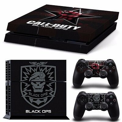 PS4 playstation console controller skins  COD black Ops call duty  Aussie seller