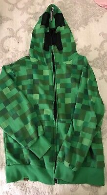Youth Size Large Minecraft Hoodie
