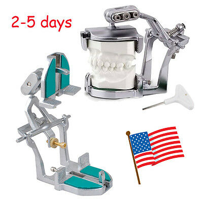 US SHIP Dentist Adjustable Magnetic Articulator Dental Lab Equipment full mouth