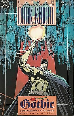 Batman: Legends of the Dark Night #9 ~ VF/NM DC 1990 ~ Gothic Part 4 (of 5)