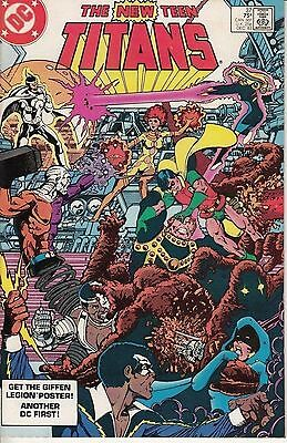 The New Teen Titans #37 ~ DC Bronze Age 1983 ~ Signed Marv Wolfman VF