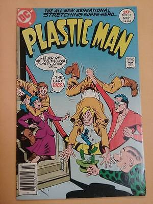 Plastic Man #17 (Apr-May 1977) DC Bronze Age Comic ~ F/VF