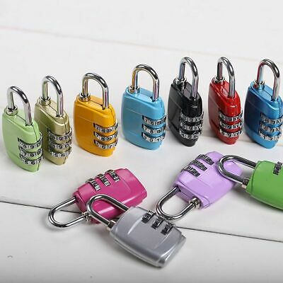 Travel Luggage Suitcase Resettable 3Digit  Combination Lock Code Padlock