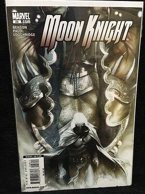 Moon Knight 2006 3rd Series #28 Dell'Otto Cover Punisher Marvel Comics VF/NM