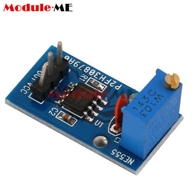2PCS NE555 Adjustable Frequency Pulse Generator Module For Arduino Smart Car MO