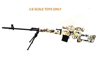 Display Only 1:4 Scale Toy Figure Metal Model L96 Sniper Rifle ACU AF-MC0012