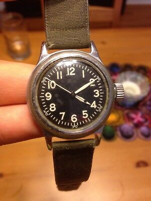 The watch that won WWII -- 1944 Elgin A-11 Excellent condition!