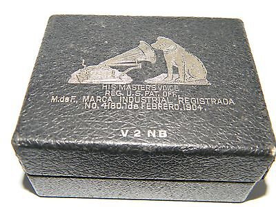 Vintage Rca His Master's Voice Black Box (Only) February 1904