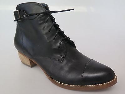 Django & Juliette - new ladies leather ankle boot size 37 #157 *CLEARANCE*